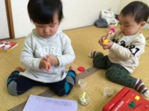 """""""もう!をまぁ~☆彡に""""お片付けセミナー「玄関編」託児コーナー"""